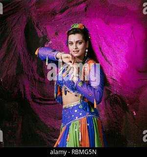 Portrait von Shilpa Shirodkar, Indien, Asien Stockbild
