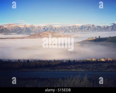 Grand Teton Landschaft Stockbild