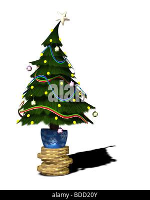 Weihnachtsgeschäft Stockbild