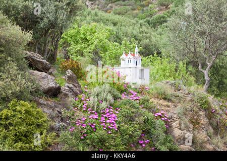 Kreta - Griechenland - Heiligtum der Exo Mouliana, Europa Stockbild