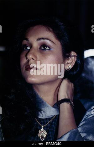 Nahaufnahme von Tina Ambani, Indien, Asien Stockbild