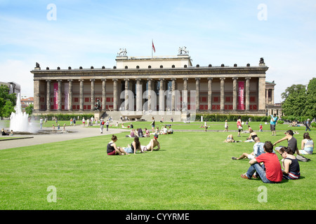 Altes Museum oder antike Museum in Berlin Stockbild