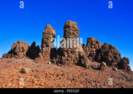 Roque de Los Muchachos, Kanarische Inseln, La Palma Stockbild