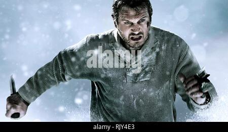 Die grauen 2011 Open Road Film mit Liam Neeson Stockbild
