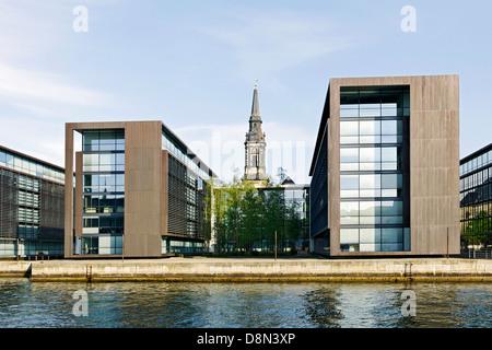 Moderne Architektur, Christianshavn, Kopenhagen, Dänemark, Europa Stockbild