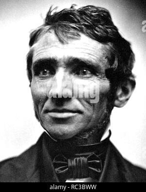 CHARLES GOODYEAR (1800-1860) US-amerikanische Chemiker und Fertigungsingenieur, aus vulkanisiertem Gummi entwickelt. Stockbild