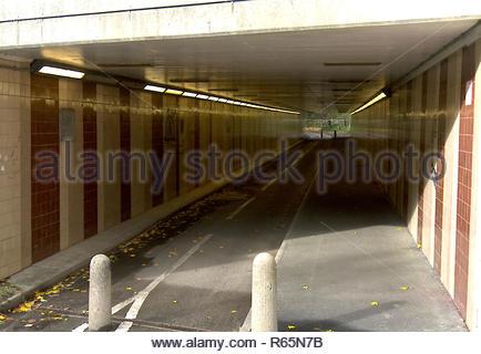 Unterführung Tunnel Stockbild