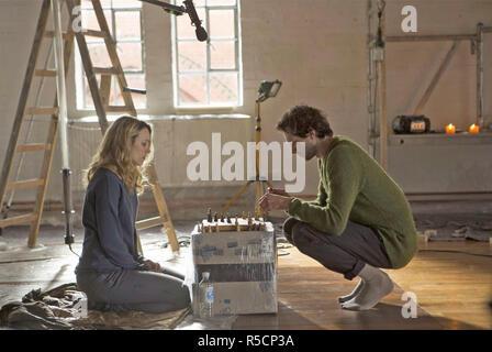 Der meistgesuchte Mann 2014 Lionsgate/Film 4 Produktion mit Rachel Adams und Grigorij Dobrygin Stockbild