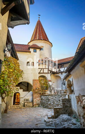 Draculas Schloss, Kleie, Siebenbürgen, Rumänien Stockbild