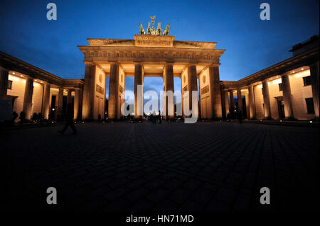 Brandenburger Tor, Berlin Stockbild