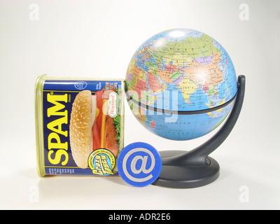 Dosenfleisch Spam Stockbild