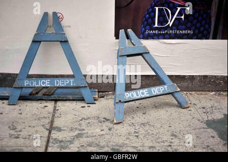 Böcke New York Polizei-Abteilung Stockbild