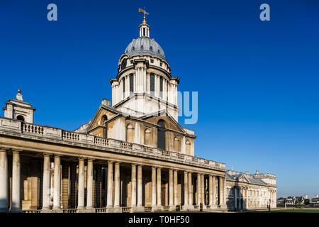 England, London, Greenwich, Old Royal Naval College Stockbild