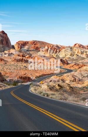 Valley of Fire State Park, Nevada, Vereinigte Staaten von Amerika, Nordamerika Stockbild