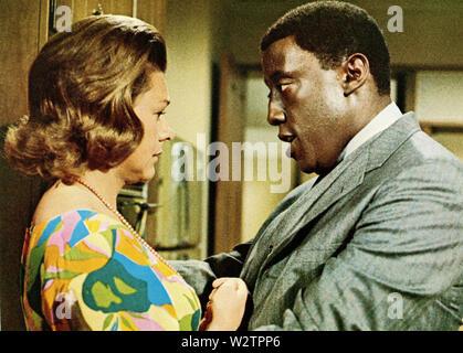 WATERMELON MAN 1970 Columbia Pictures Film mit Godfrey Cambridge und Estelle Parsons Stockbild