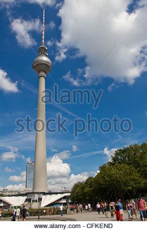 TV-Tower Berlin Stockbild