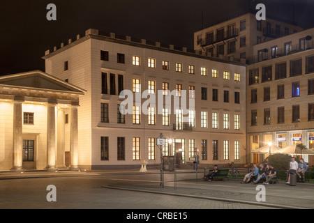 Max Liebermann Haus, Pariser Platz, Berlin, Deutschland Stockbild