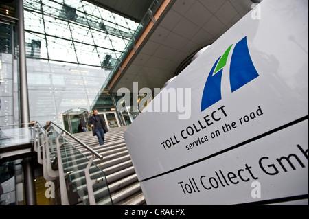 Toll Collect GmbH Hauptsitz, Berlin, Deutschland, Europa Stockbild