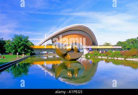 Haus der Kulturen der Welt Berlin Deutschland Stockbild