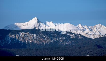 Deutsche Alpen Stockbild