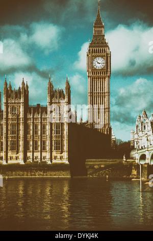 Big Ben, London, UK Stockbild