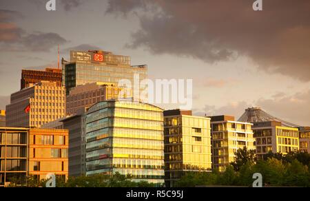 Potsdammer Platz, Berlin, Deutschland Stockbild