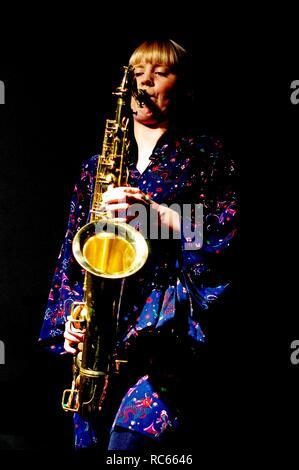 Helena Kay, Urteil Jazz Club, Brighton, East Sussex, 15. Dez 2018. Stockbild