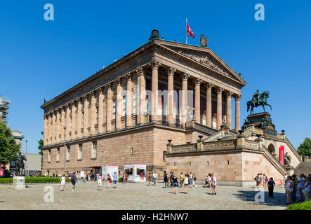 Die Alte Nationalgalerie auf der Museumsinsel (Museumsinsel), Berlin, Deutschland Stockbild
