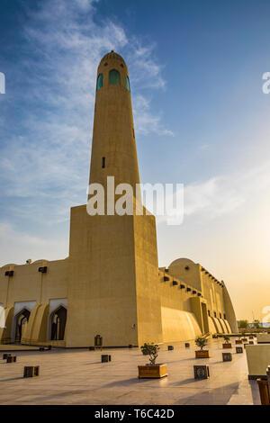 Imam Muhammad Bin Abdul Wahhab Moschee, Doha, Qatar Stockbild