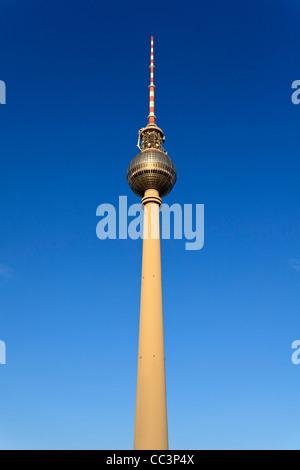 Deutschland, Berlin, Alexanderplatz, Fernsehturm (Fernsehturm) Stockbild