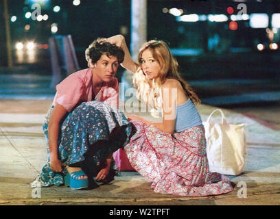 Gott sei Dank, es ist Freitag 1978 Columbia Pictures Film mit Valerie Landsburg links und Terri Nunn Stockbild