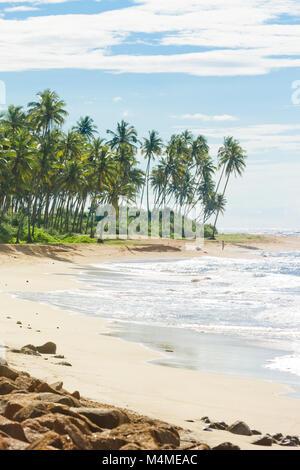 Sri Lanka, Asien, Rathgama - herrlich natürlichen Strand Landschaft von Rajgama aka Rathgama Stockbild