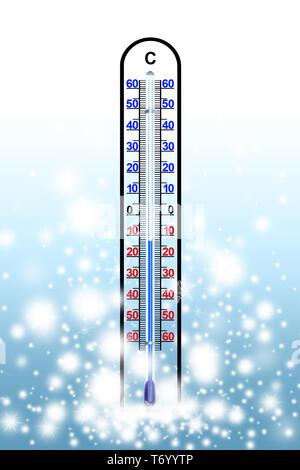 Winter 13. Stockbild