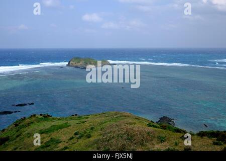 Scenic View Meer gegen Himmel Stockbild