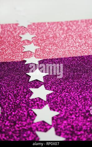 Pink und Glitter gradient Textur Stockbild