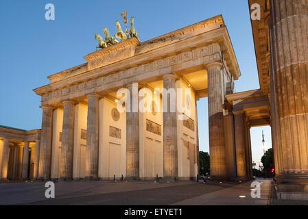 Brandenburger Tor, Berlin, Deutschland Stockbild