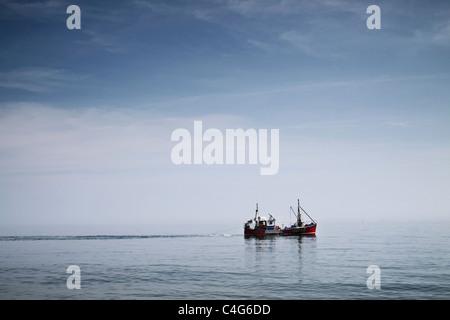 Angelboot/Fischerboot Stockbild