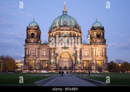 Berliner Dom und Lustgarten, Berlin, Deutschland Stockbild