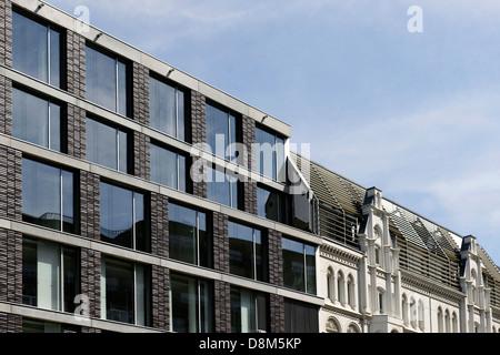 Moderne Architektur, Valentinskamp, Hamburg, Deutschland Stockbild