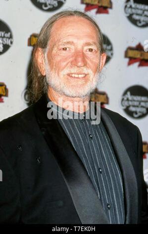 WILLIE NELSON American Country Musiker und Schauspieler Stockbild