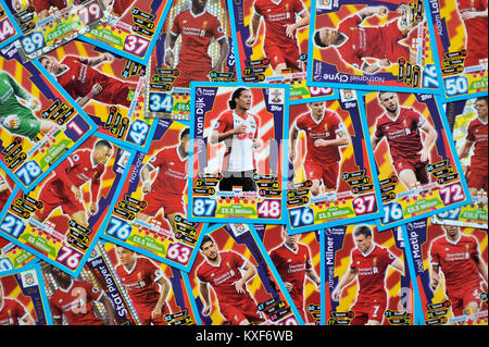 Virgil Van Dijk Transfer nach Liverpool Stockbild