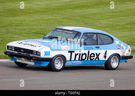 Während der Gerry Marshall Trophy Rennen in der 77. Goodwood GRRC Mitgliederversammlung, Sussex, UK. Stockbild