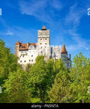 Draculas Schloss, Transilvanien, Bran, Rumänien Stockbild