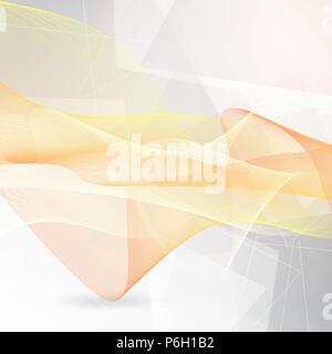 Zusammenfassung Hintergrund der fließenden Linien Stockbild