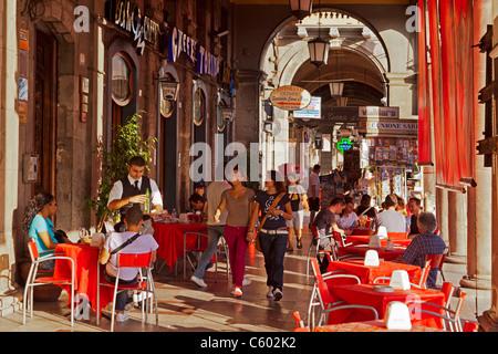 Cagliari, Sardinien Cafe Torino, Italien Stockbild