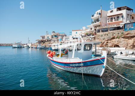 Kreta - Griechenland - Hafen von Sisi, Europa Stockbild