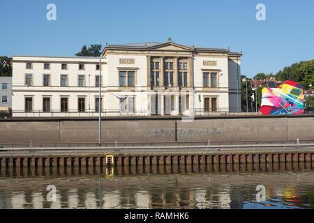 Saarländischer Landtag dsub das Saarbrücker Schloss, Saarbrücken, Saarland, Deutschland, Europa Stockbild