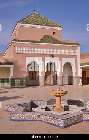 Geographie/Reisen, Marokko, Zaouia, im 17. Jahrhundert von den islamischen Gelehrten Abu Abdullah Muhammad Abu Nasr Stockbild