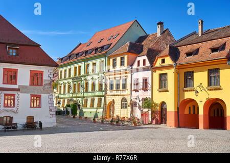 Sighisoara/Schäßburg, Siebenbürgen, Rumänien Stockbild