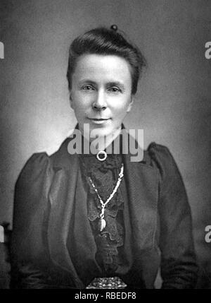 SOPHIE BRYANT (1850-1922), anglo-irischen Mathematiker und feministischen Stockbild